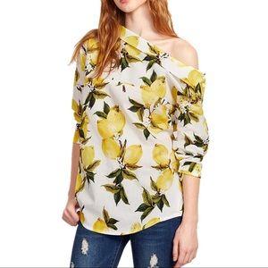 Tops - 🍋 || Lemon Off the Shoulder Blouse
